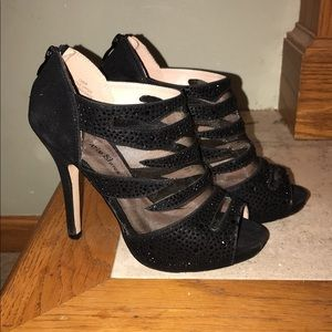 Black High Heel Event Shoes